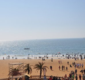 Calangute Beach Goa Beach Tour Attractions Nightlife
