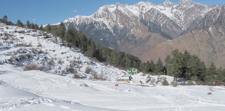 10 Great Places To See Snow Falls In India Tour My India