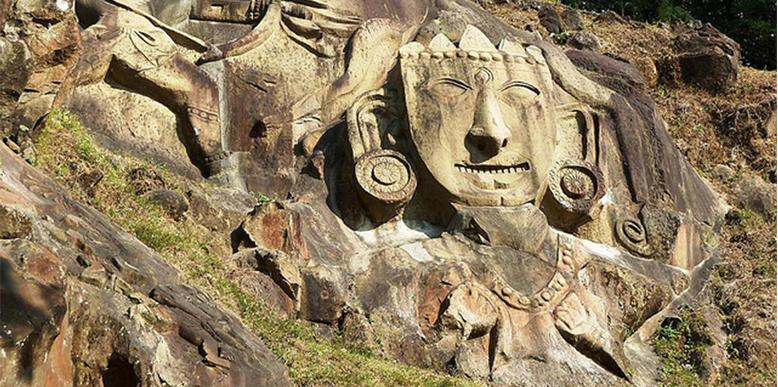 Rock-Arts-from-Unakoti-Hill