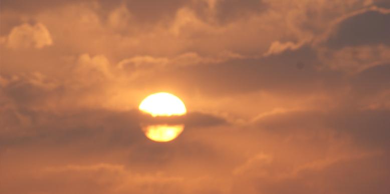 Sunset from Sunset point in Jaisalmer