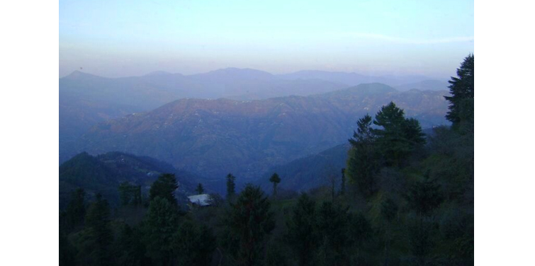 View from Shimla-Kufri Road, Shimla