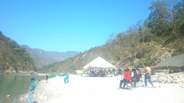 Beach Camp Rishikesh