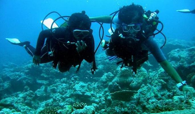 Scuba Diving @ Kadmat
