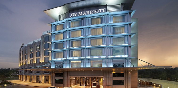 Another Well Known Name Among The Luxury Hotels In Chandigarh J W Marriott Is Newest Lavishly Ointed Property Situated Centre Of City