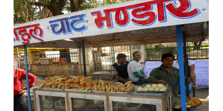 Street Food at Khajuraho