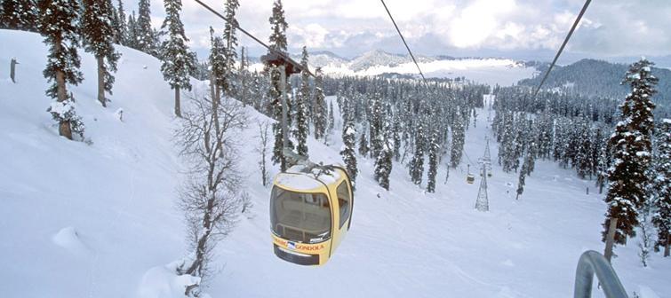 Gulmarg-Heli-Skiing