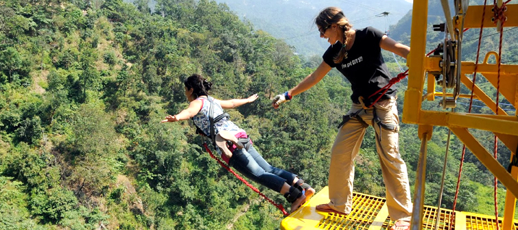 Rishikesh--Bungee-Jumping