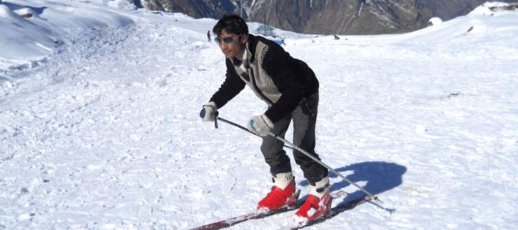 auli-skiing