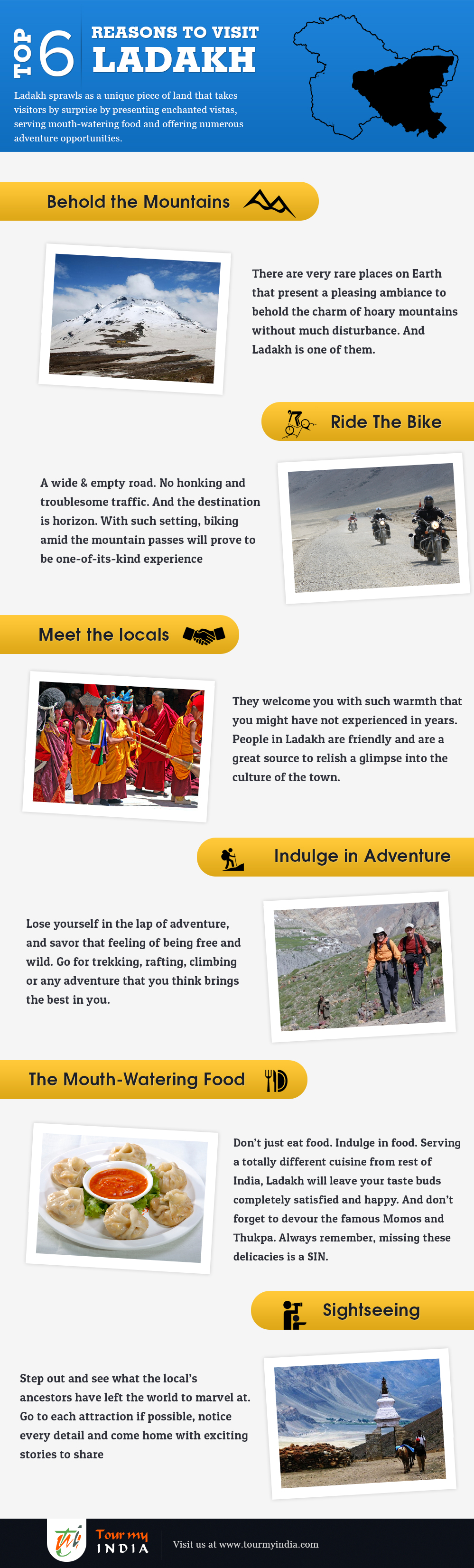 6 Reasons to visit Ladakh
