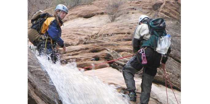 waterfall-rappelling