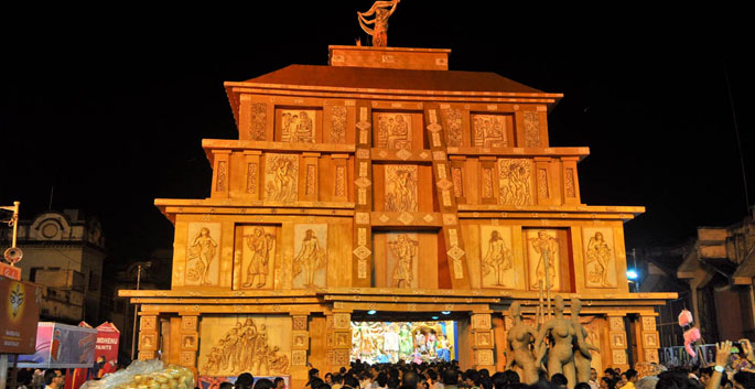 Top 20 pandals to visit during durga puja in kolkata tour my india 8 mohammad ali park durga puja thecheapjerseys Images