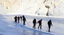 Frozen River Trek