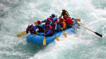 Rafting from Shivpuri to Rishikesh