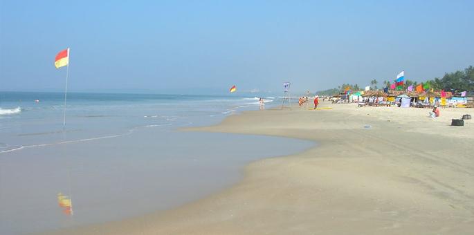 Utorda-Beach,-Goa