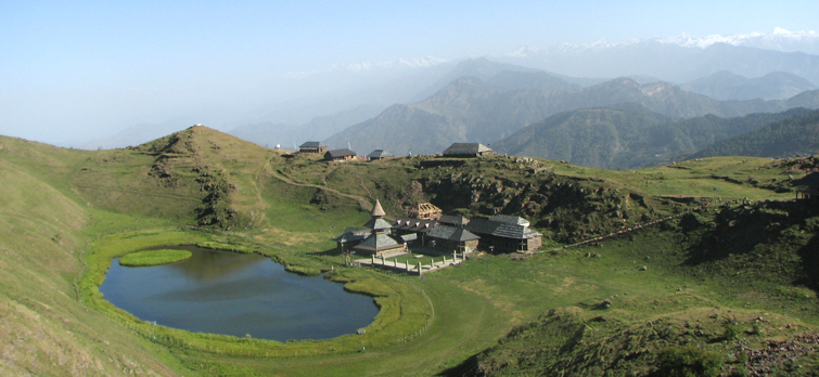 Prashar Temple and Lake