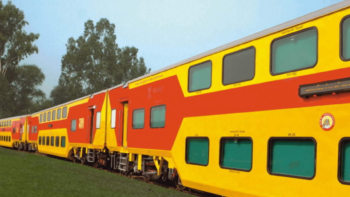 Now Travel in Double-Decker Train from New Delhi to Lucknow