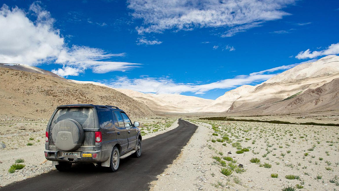 5 Jeep Safari Routes to a Paradise Called Leh