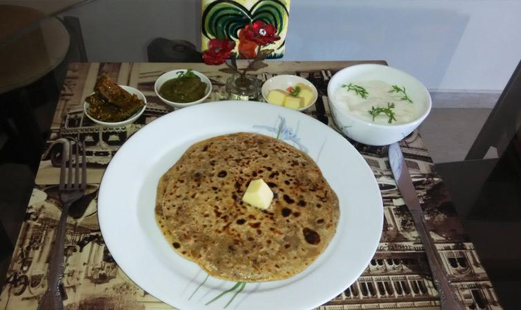 Gahat Ke Parathe-Uttarakhand Cuisine