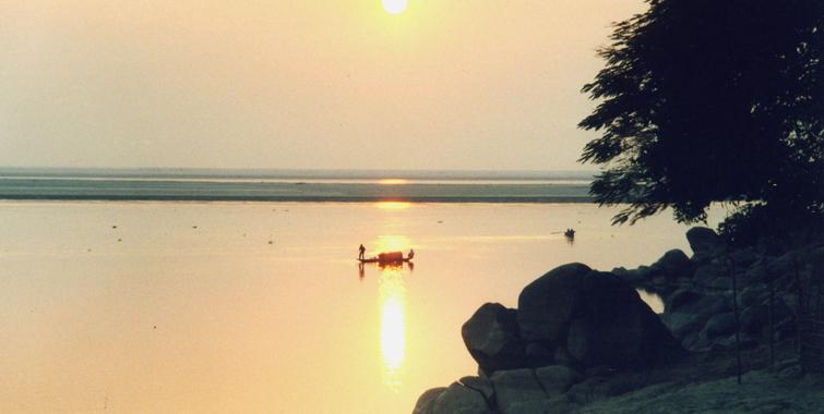 Brahmaputra River Tezpur-Assam