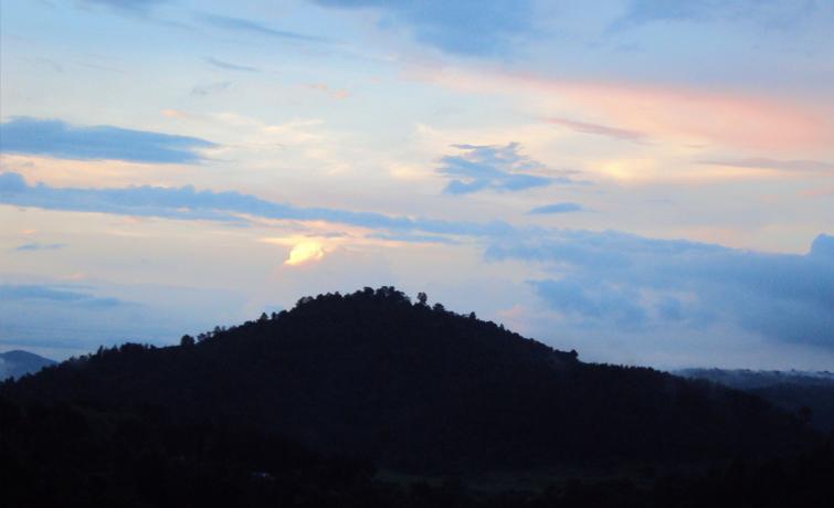 Sunset at Nangpoh