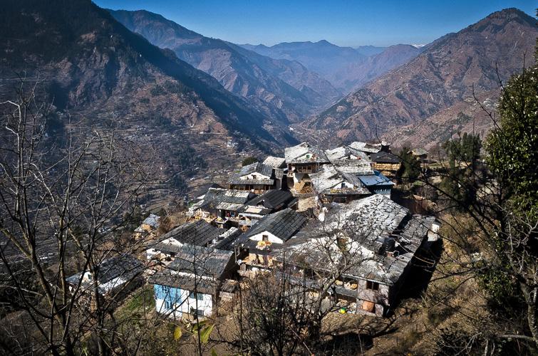 Bhiyar Village Near Tirthan Valley Himachal