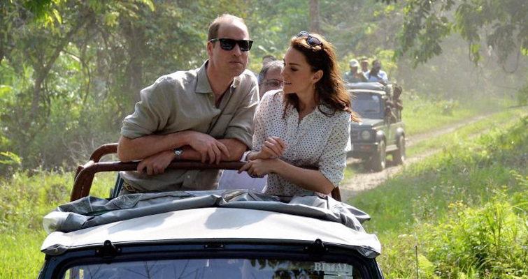 Prince William and Kate Visits Kaziranga National Park