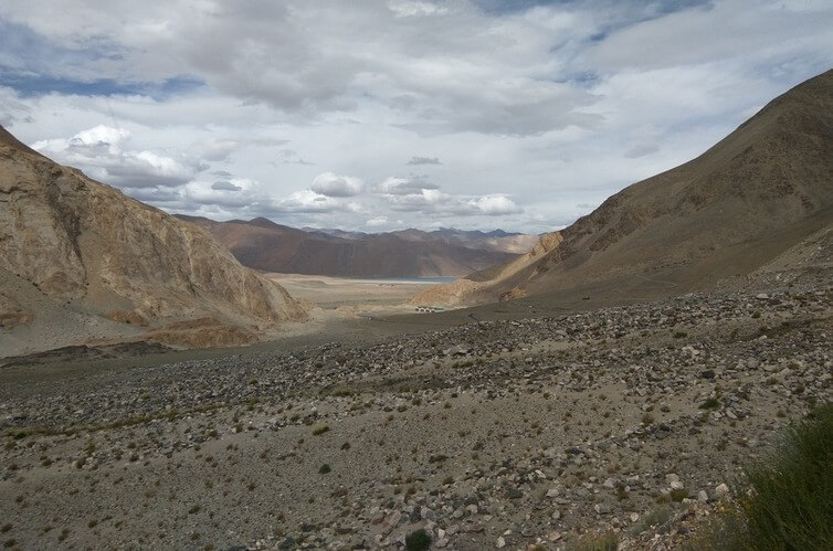 FIrst View of Pangong