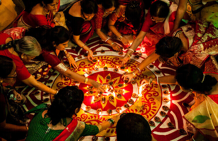 Diwali in East India