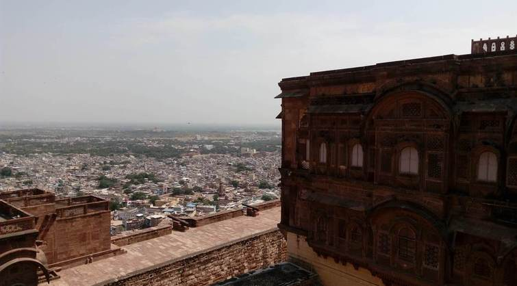 Jodhpur view from Mehrangarh Fort
