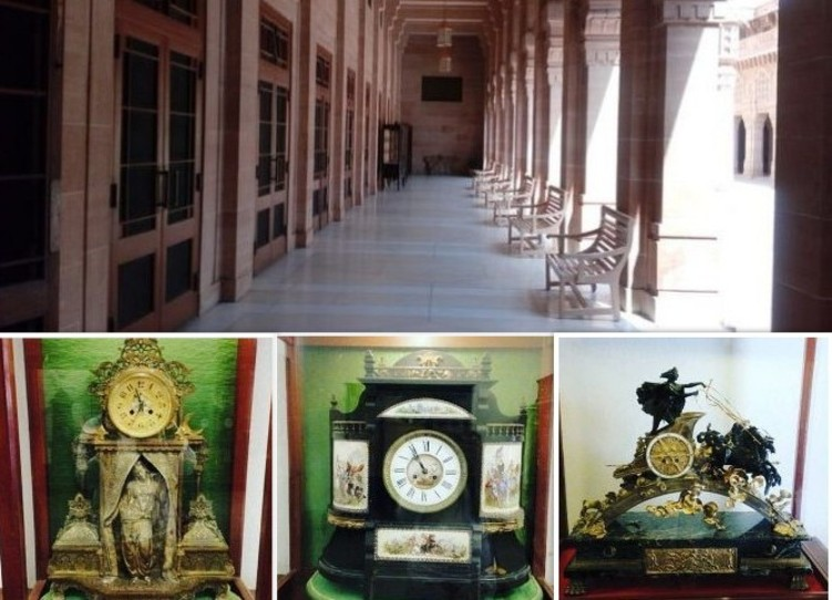 Umaid Bhawan clock collection