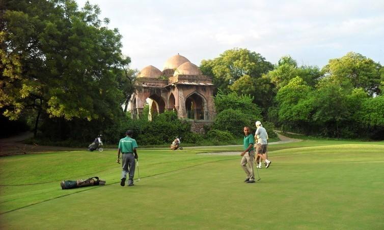 Golfing Delhi