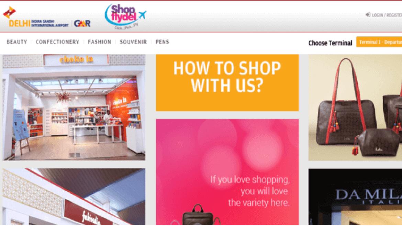 New Delhi  Airport Launches Online Shopping Portal