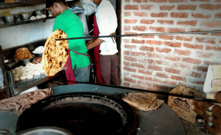 Naan Making Sanjay Chur Chur Naan