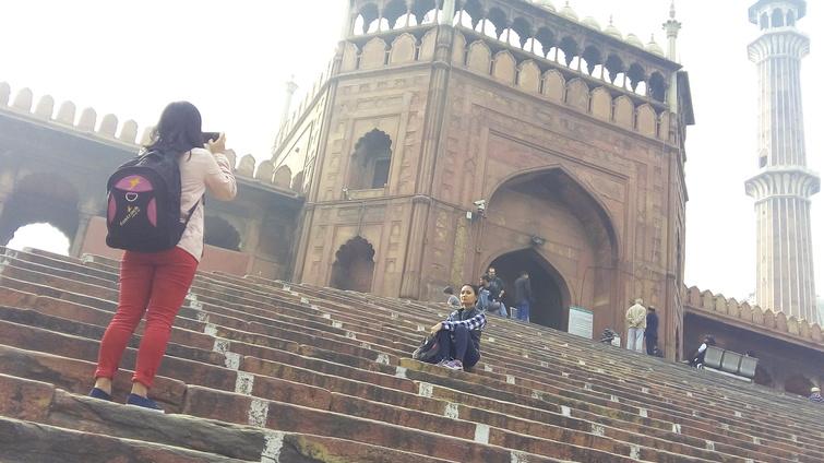 Jama Masjid Stairs