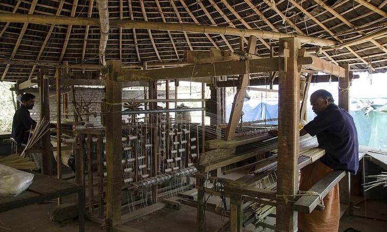 Wayanad Bamboo factory