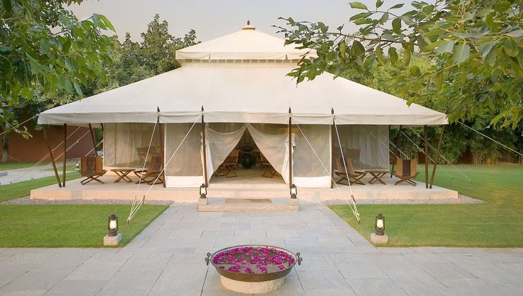 Aman-I-Khas Resort in Ranthambore