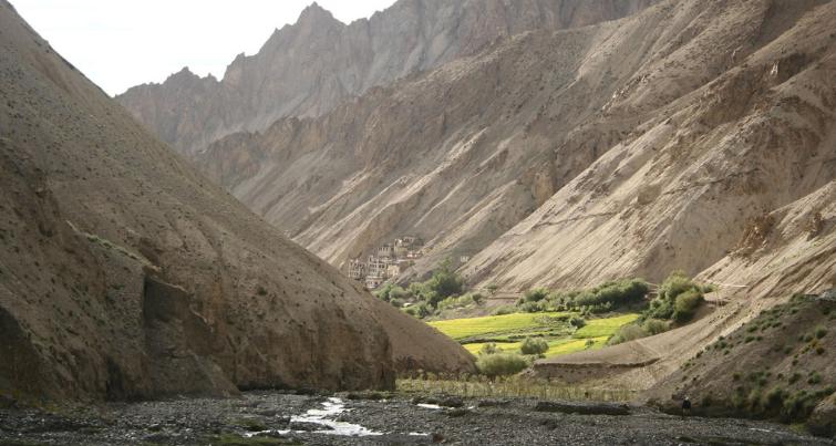 Hinju village Lamayuru to Chilling Trek