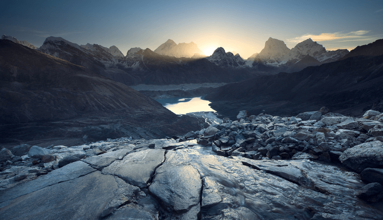 Mount Everest View from Gokyo
