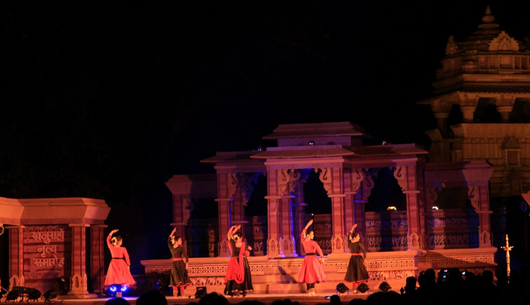 Sound and Light Show in Khajuraho