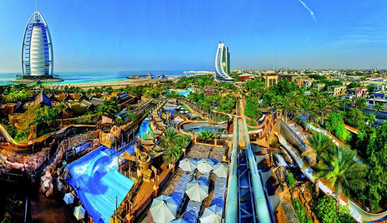 Amusement Park of Wild Wadi Dubai