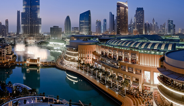 Go mall hopping in Dubao