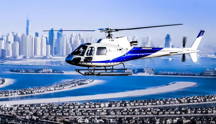 Helicopter Tour in Dubai