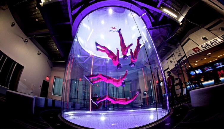 Skydive Indoors at iFly Dubai