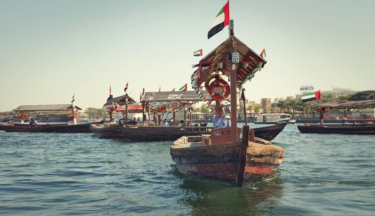 Take a Sweet Sail on Abra Dubai