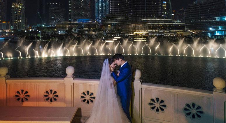Romantic Honeymoon in Dubai