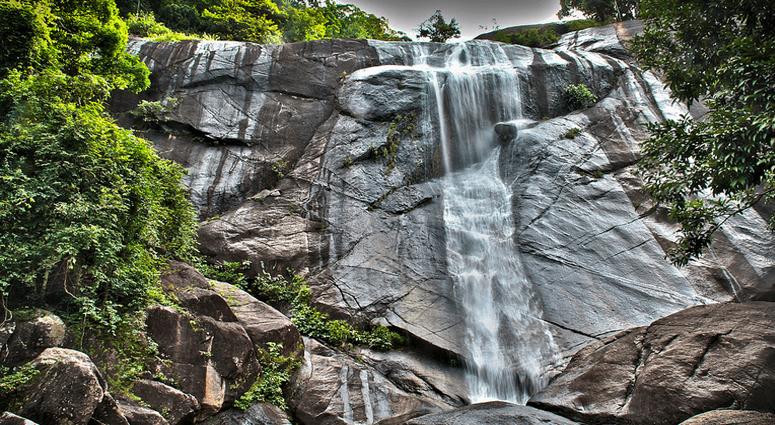 Telega Tujuh Waterfalls