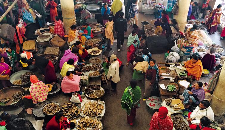 Ema Keithel Market, Manipur