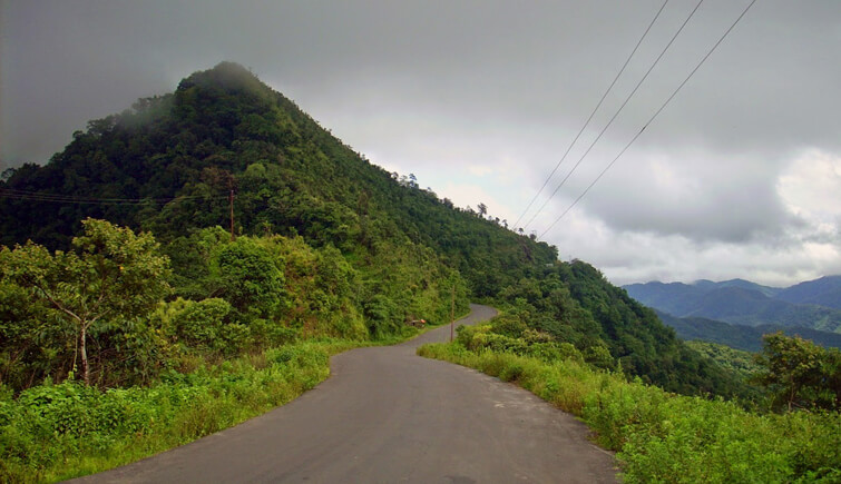 Imphal to Moreh Road