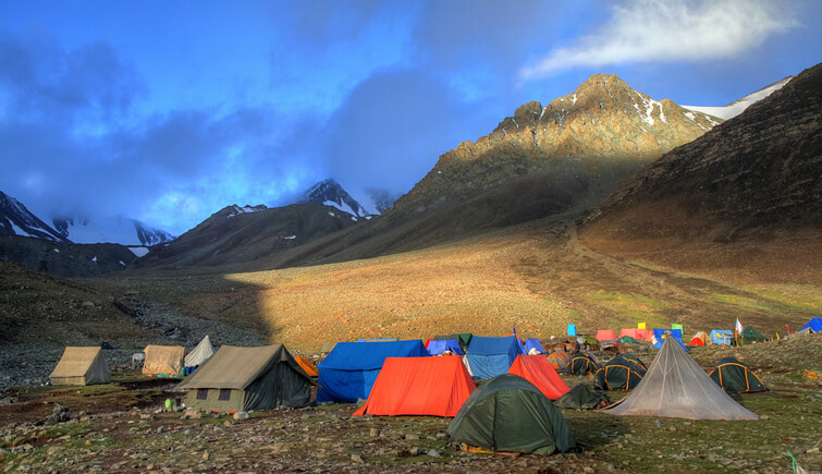 Stok Kangri Trek Base Camp