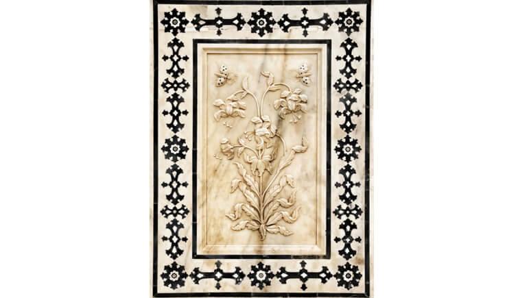 Flower-Fresco-of-Sheesh-Mahal